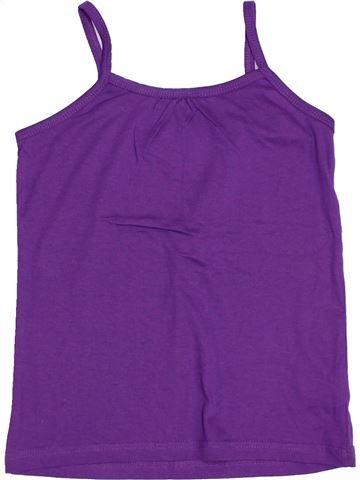 T-shirt sans manches fille PINKGUN violet 10 ans été #1306392_1