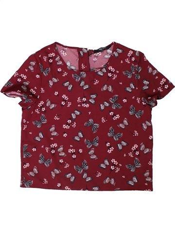Chemise manches courtes garçon NEW LOOK marron 14 ans été #1306416_1