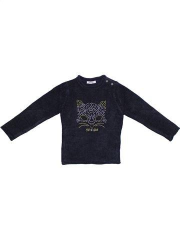 jersey niña 3 POMMES azul oscuro 4 años invierno #1306441_1