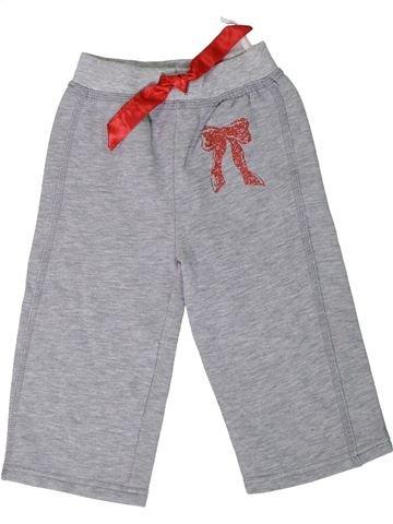 Pantalon fille OKAY gris 2 ans hiver #1306603_1
