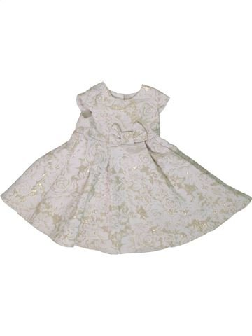 Robe fille GEORGE blanc 9 mois hiver #1306613_1