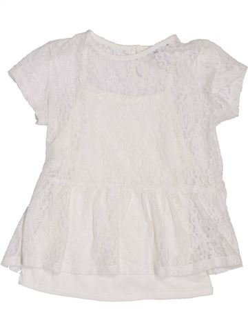 Camiseta de manga corta niña GEORGE blanco 8 años verano #1306644_1