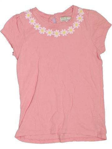 T-shirt manches courtes fille BHS rose 8 ans été #1306689_1