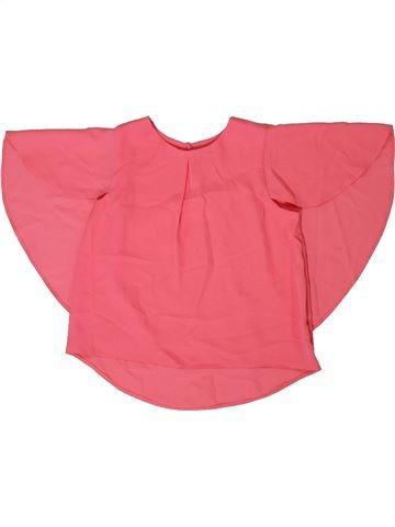 Camisa de manga corta niño TU rosa 5 años verano #1306705_1