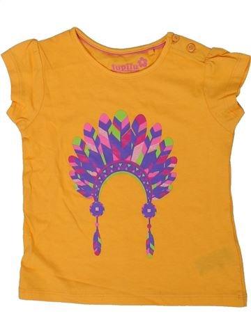 Camiseta sin mangas niña LUPILU naranja 3 años verano #1306713_1