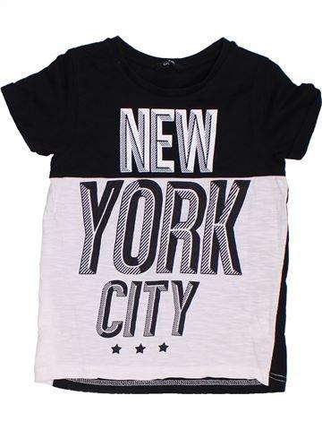 Camiseta de manga corta niño GEORGE negro 7 años verano #1306753_1