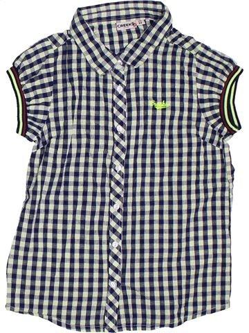 Blusa de manga corta niña CREEKS gris 12 años verano #1306790_1