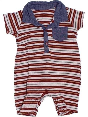 Combinación corta niño SANS MARQUE violeta 3 meses verano #1306837_1