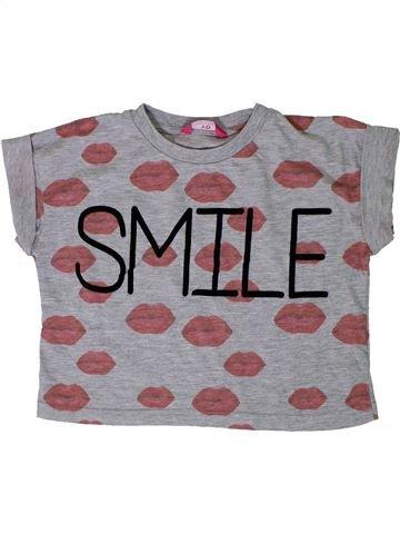 T-shirt manches courtes fille PRIMARK gris 13 ans été #1306948_1