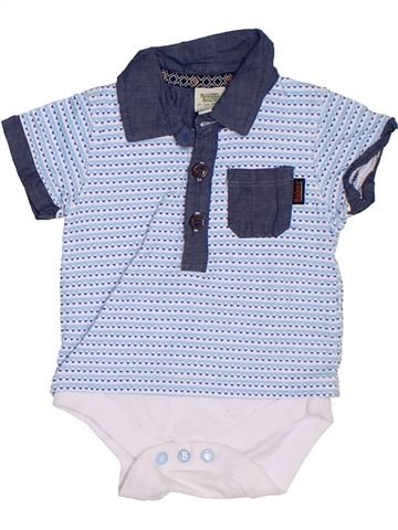 Polo manches courtes garçon TED BAKER bleu 3 mois été #1306996_1