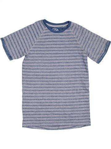 T-shirt manches courtes garçon TU gris 12 ans été #1307021_1
