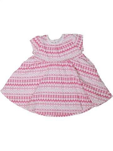 Vestido niña F&F rosa 9 meses verano #1307107_1