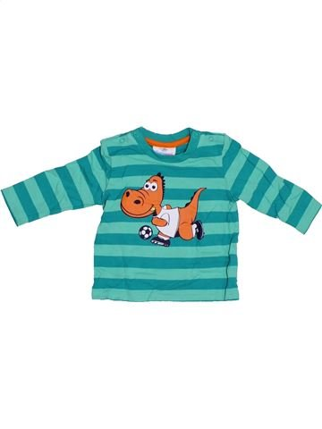 Camiseta de manga larga niño TOPOMINI verde 6 meses invierno #1307179_1