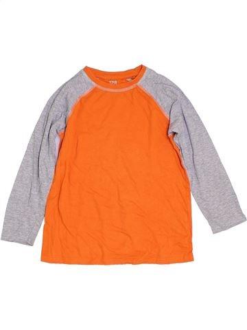 T-shirt manches longues garçon Y.F.K orange 8 ans hiver #1307200_1