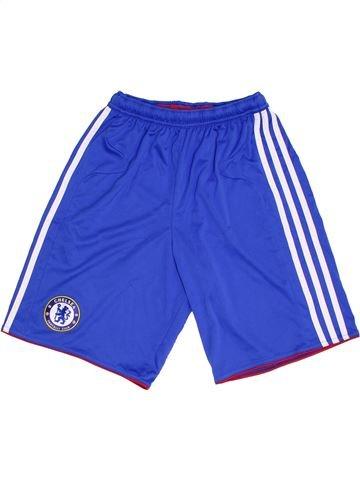 Pantalon corto deportivos niño ADIDAS azul 14 años verano #1307231_1