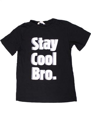 Camiseta de manga corta niño H&M negro 14 años verano #1307259_1