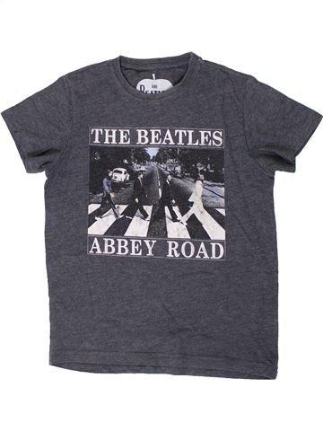 T-shirt manches courtes garçon NEXT gris 8 ans été #1307279_1