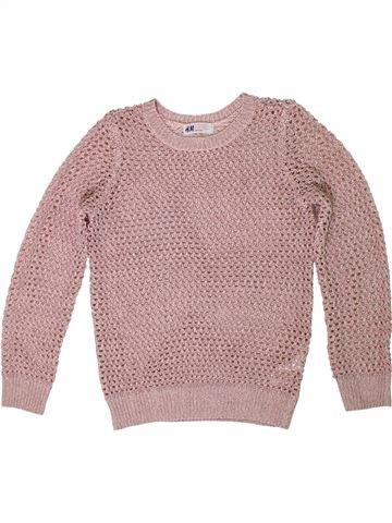 jersey niña H&M rosa 10 años invierno #1307291_1