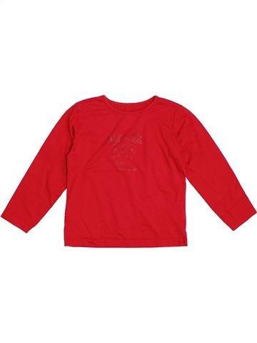 Camiseta de manga larga niña TCHIBO rojo 6 años invierno #1307302_1
