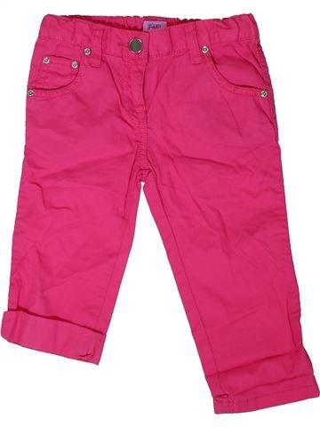 Pantalón corto niña F&F rosa 6 años verano #1307332_1