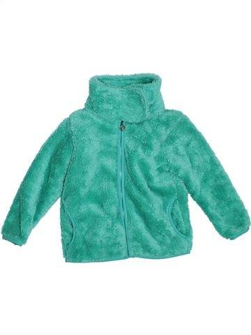 Chaqueta niña TOPOLINO verde 4 años invierno #1307393_1