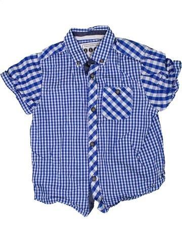 Camisa de manga corta niño MATALAN violeta 5 años verano #1307401_1