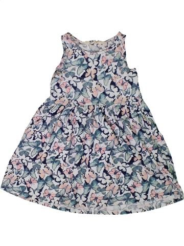 Vestido niña H&M gris 4 años verano #1307405_1