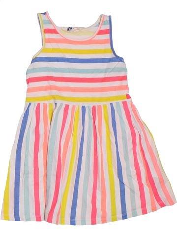 Vestido niña H&M violeta 4 años verano #1307423_1