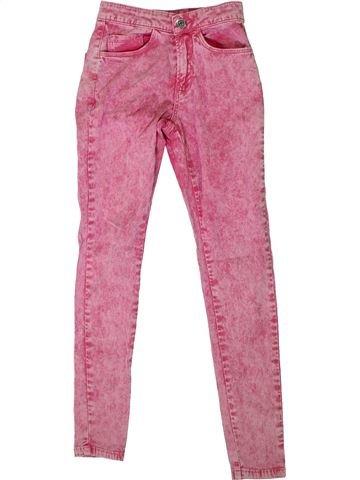Pantalon fille CANDY COUTURE rose 11 ans été #1307574_1