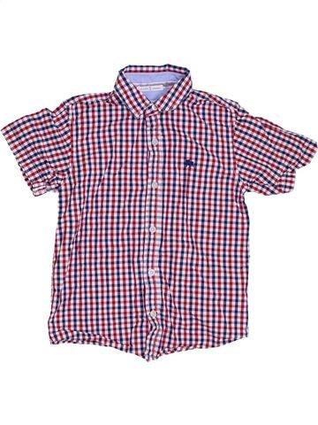 Chemise manches courtes garçon JASPER CONRAN violet 8 ans été #1307626_1