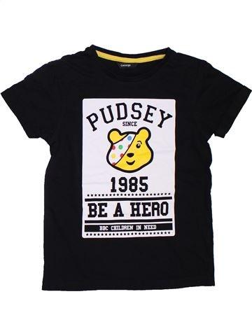 Camiseta de manga corta niño GEORGE negro 7 años verano #1307652_1