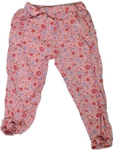 Pantalón niña MATALAN rosa 3 años verano #1307689_1