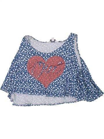T-shirt sans manches fille NEW LOOK gris 14 ans été #1307715_1