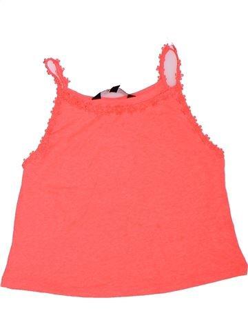 T-shirt sans manches fille NEW LOOK rose 11 ans été #1307801_1