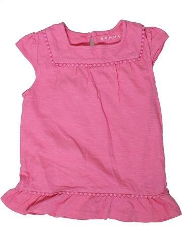 T-shirt manches courtes fille NUTMEG rose 6 ans été #1307860_1