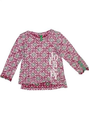 Camiseta de manga larga niña BENETTON violeta 2 años invierno #1307915_1