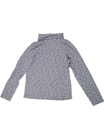 Camiseta de cuello alto niña H&M gris 8 años invierno #1307972_1