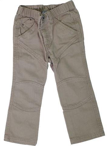 Pantalón niño KIABI marrón 3 años verano #1308102_1