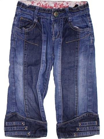 Pantalón corto niña CATIMINI azul 5 años verano #1308134_1
