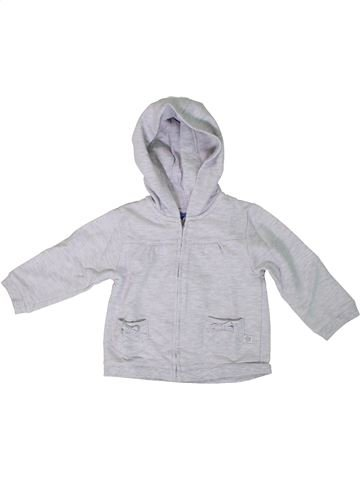 Sweat fille BOUT'CHOU gris 18 mois hiver #1308195_1