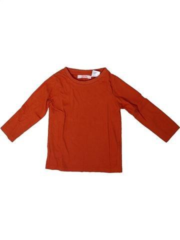 Camiseta de manga larga niño LA REDOUTE CRÉATION rojo 18 meses invierno #1308205_1