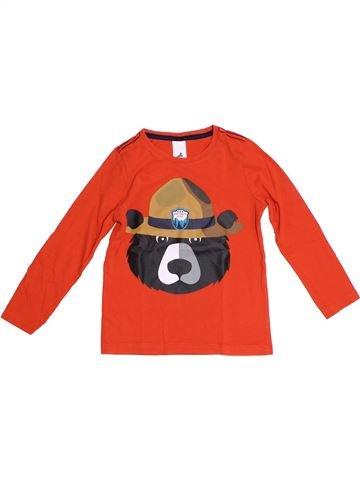 Camiseta de manga larga niño C&A rojo 6 años invierno #1308230_1