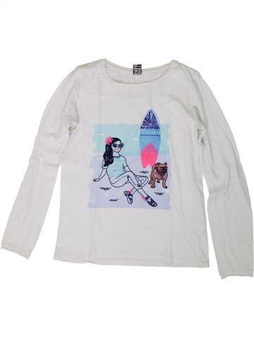 Camiseta de manga larga niña TAPE À L'OEIL blanco 12 años invierno #1308258_1