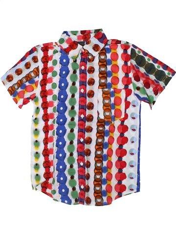 Camisa de manga corta niño DESIGUAL blanco 14 años verano #1308310_1