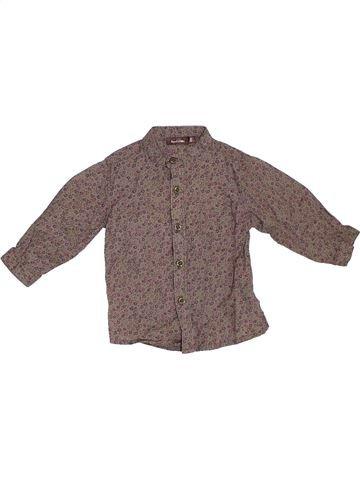 Blusa de manga larga niña BOUT'CHOU violeta 6 meses invierno #1308346_1