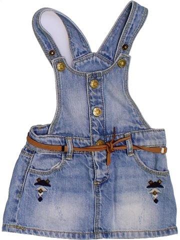 Vestido niña ZARA azul 9 meses verano #1308358_1