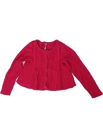 Chaleco niña ORCHESTRA rojo 5 años invierno #1308421_1