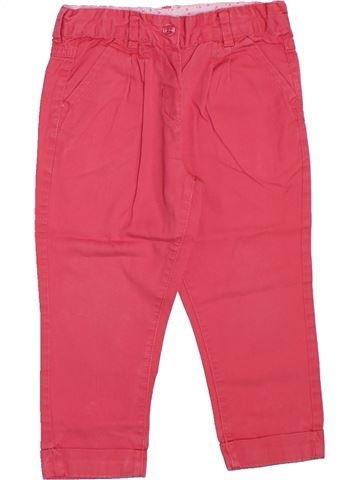 Pantalon fille BOUT'CHOU rose 2 ans été #1308433_1