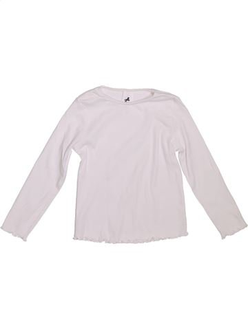 Camiseta de manga larga niña C&A blanco 4 años invierno #1308549_1