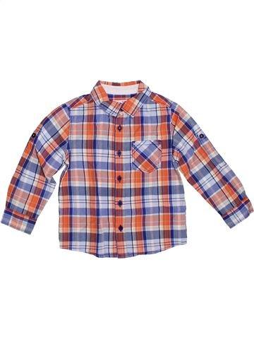 Camisa de manga larga niño DPAM violeta 3 años invierno #1308602_1